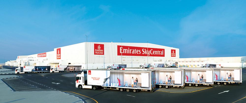 Emirates SkyCargo zaczyna nowy etap w historii portu w Dubaju