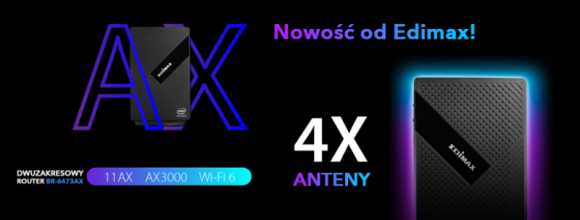 Nowy router od Edimax!