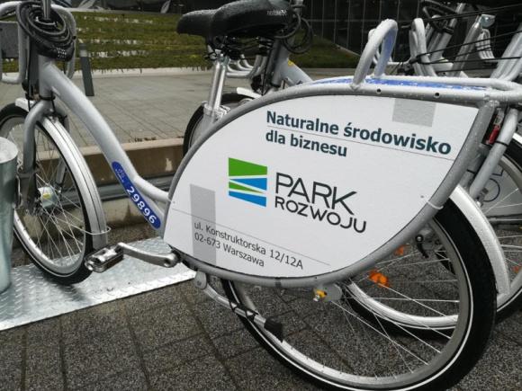 Park Rozwoju – nowa stacja rowerowa w Warszawie